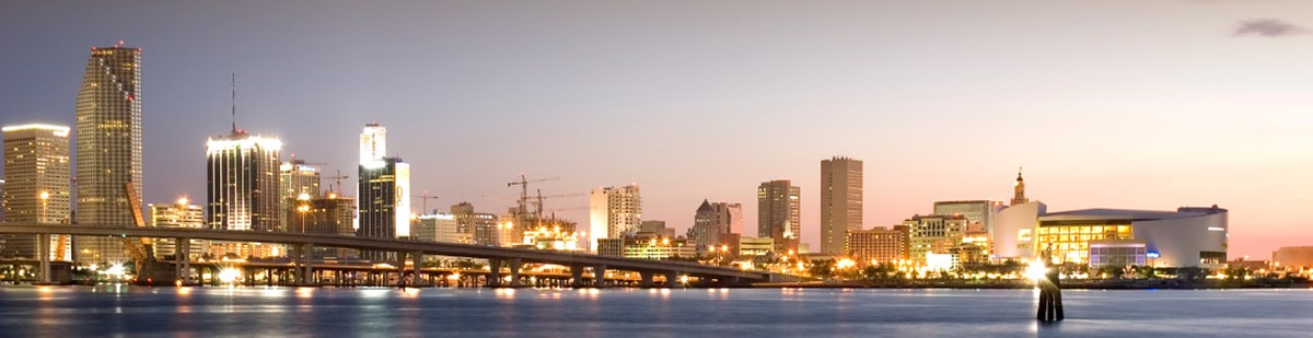 Miami-Dade County skyline